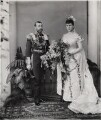 King George V; Queen Mary, by W. & D. Downey - NPG x20792