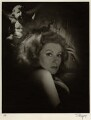 (Eileen Evelyn) Greer Garson, by Laszlo Willinger - NPG x21556