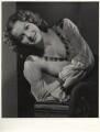 Maureen O'Hara as Esmerelda in 'The Hunchback of Notre Dame', by Ernest A. Bachrach - NPG x21660