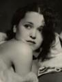 Maureen O'Sullivan, by George Hurrell - NPG x21662