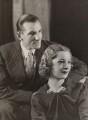 Fred Perry; Helen Vinson, by Bassano Ltd - NPG x21683