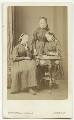 Alice Nina Rowley (née Corbet); Sybell Rachel Blackett (née Corbet); Beatrice Augusta Corbet, by Augustin Aimé Joseph Le Jeune - NPG x22118