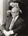 Dennis Gabor (né Günszberg) (Dénes Gábor); Marjorie Louise Gabor (née Butler), by B. Cantos - NPG x22220