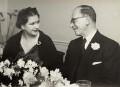 Marjorie Louise Gabor (née Butler); Dennis Gabor (né Günszberg) (Dénes Gábor), by Unknown photographer - NPG x22221