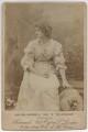 Mary Anderson (Mrs de Navarro) as Julia in 'The Hunchback', by Herbert Rose Barraud - NPG x22235