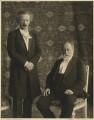 Ignace Jean Paderewski; Camille Saint-Saëns, by De Jongh - NPG x22279