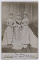 Princess Louise, Duchess of Fife; Louise, Queen of Denmark; Queen Alexandra, by Lafayette (Lafayette Ltd) - NPG x22286