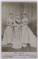Princess Louise, Duchess of Fife; Louise, Queen of Denmark; Queen Alexandra, by Lafayette - NPG x22286