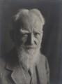George Bernard Shaw, by Olive Edis - NPG x22528