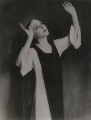 Lady Diana Cooper (Diana (née Manners), Viscountess Norwich) as the nun in 'The Miracle', by Fred G. Curson - NPG x22611