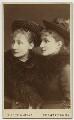 Virginia Frances Bateman; Isabel Emilie Bateman, by Window & Grove - NPG x245