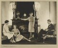 Princess Margaret; Queen Elizabeth, the Queen Mother; Queen Elizabeth II; King George VI, by Dorothy Wilding - NPG x25238