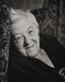Dame Margaret Rutherford, by Ronald Franks - NPG x26004