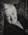 Dame Margaret Rutherford, by Ronald Franks - NPG x26004
