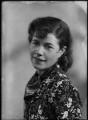 Christina Agnes Lilian Foyle (Mrs Ronald Batty), by Bassano Ltd - NPG x26684