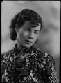 Christina Agnes Lilian Foyle (Mrs Ronald Batty), by Bassano Ltd - NPG x26685
