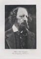 Alfred, Lord Tennyson, by J.J. Waddington Ltd, after  Julia Margaret Cameron - NPG x26789