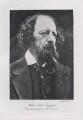 Alfred, Lord Tennyson, by J.J. Waddington Ltd, after  Julia Margaret Cameron - NPG x26789