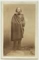 Alfred, Lord Tennyson, by William Jeffrey - NPG x26793