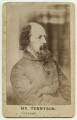 Alfred, Lord Tennyson, by Unknown photographer - NPG x26798