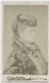 Carlotta Addison (Mrs Charles La Trobe), by Elliott & Fry - NPG x268