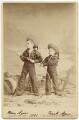 Hon. Henry Augustus Bernard Agar; Hon. Francis William Arthur ('Frank') Agar, by Elliott & Fry - NPG x270