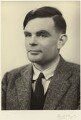 Alan Turing, by Elliott & Fry - NPG x27078