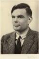 Alan Turing, by Elliott & Fry - NPG x27078