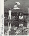 Jenny Agutter; Sally Thomsett; Dinah Sheridan; Gary Warren in The Railway Children, by Unknown photographer - NPG x272