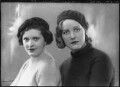 Mary Hermione (née Ormsby-Gore), Lady Mayall; Unity Mitford, by Bassano Ltd - NPG x27528