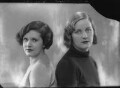 Mary Hermione (née Ormsby-Gore), Lady Mayall; Unity Mitford, by Bassano Ltd - NPG x27530