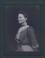 Dame Emily Penrose, probably by C.W. Carey - NPG x27610