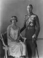 King George VI; Queen Elizabeth, the Queen Mother, by Vandyk - NPG x27986
