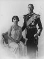 King George VI; Queen Elizabeth, the Queen Mother, by Vandyk - NPG x27987