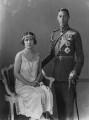 King George VI; Queen Elizabeth, the Queen Mother, by Vandyk - NPG x27988