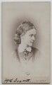 Dame Millicent Garrett Fawcett (née Garrett), by Elliott & Fry - NPG x28148