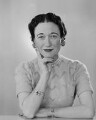 Wallis, Duchess of Windsor, by Dorothy Wilding - NPG x29431