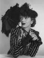 Gertrude Lawrence as Eliza Doolittle in 'Pygmalion', by Dorothy Wilding - NPG x29459