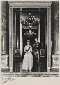 Queen Elizabeth II; Prince Philip, Duke of Edinburgh, by Anthony Buckley - NPG x29582