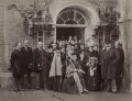 The opening of new buildings at the Sarah Acland Nursing Home, by Hills & Saunders - NPG x29596