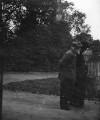 Philip Speakman Webb and an unknown woman, by Sir Emery Walker - NPG x29689
