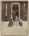 John Lubbock, 1st Baron Avebury and family, by Edgar Davey Lavender - NPG x29790
