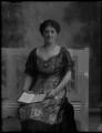 Lady Augusta Fanny Fane (née Rous), by Bassano Ltd - NPG x30206