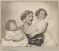 The Marchioness of Dufferin and Ava with her two daughters, by Dorothy Wilding - NPG x30459