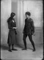 Mary Casson as Wendy; Jean Forbes-Robertson as Peter Pan in 'Peter Pan', by Bassano Ltd - NPG x30724
