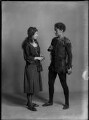 Mary Casson as Wendy; Jean Forbes-Robertson as Peter Pan in 'Peter Pan', by Bassano Ltd - NPG x30725