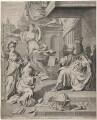 King Charles II, by Robert White, after  Adriaen de Henny (Hennin) - NPG D10638