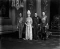 King George VI; Queen Mary; Prince George, Duke of Kent; Prince Henry, Duke of Gloucester, by Vandyk - NPG x31663