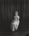 Princess Elizabeth (Queen Elizabeth II) as bridesmaid at the wedding of Lady May Cambridge and Henry Abel Smith, by Vandyk - NPG x32583