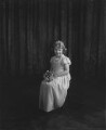 Princess Elizabeth (Queen Elizabeth II) as bridesmaid at the wedding of Lady May Cambridge and Henry Abel Smith, by Vandyk - NPG x32584